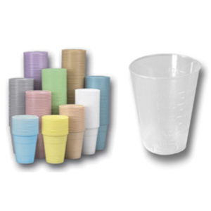 3-D Dental Disposables - Drinking Cups