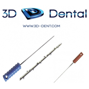3-D Dental Endodontics - Barbed Broaches