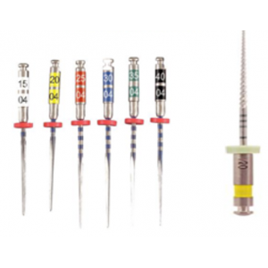 3-D Dental Endodontics - Files Nickle Titanium