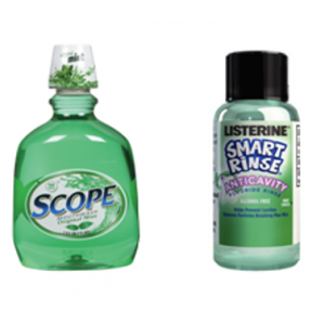 3-D Dental Preventives - Mouthwashes