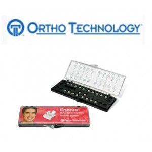 Ortho Technology Brackets – Aesthetic / Encore Metal Lined Ceramic Bracket System