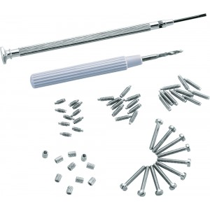 Piston Spring Screws Assortment - 1 assortment