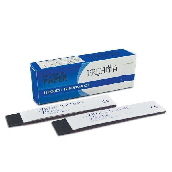 Articulating Paper - Red/Blue Regular Strips – 101.60 Microns