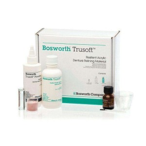 Trusoft™ Resilient Denture Acrylic Relining Material - Standard Kit (Pink Powder)
