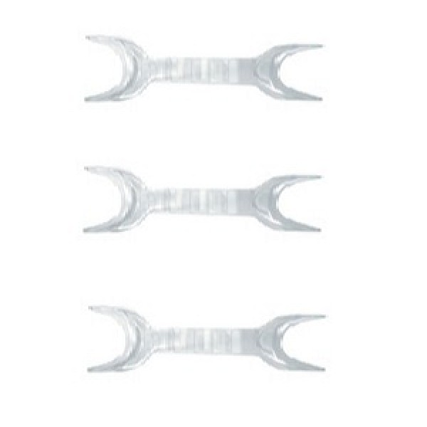 V-Cut Double Ended Cheek Retractor (2 per pack) - Cold Sterilizable