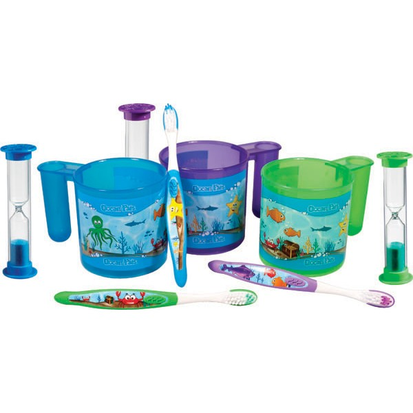 Ocean Pals® Brushing Cup Set (30 ct)