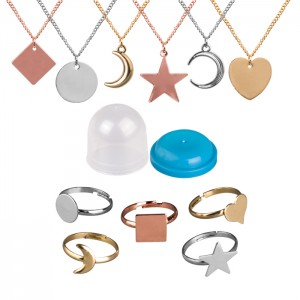 "1"" Capsule Simply Elegant Jewelery Assortment - 250/pk"