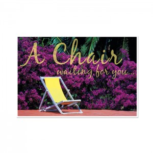 Waiting For You Postcard - 250/pk