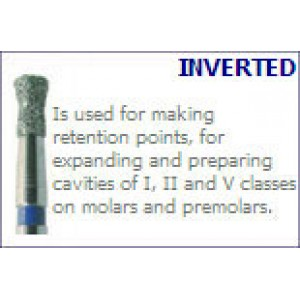 Burs 019 - Inverted Cone Extended